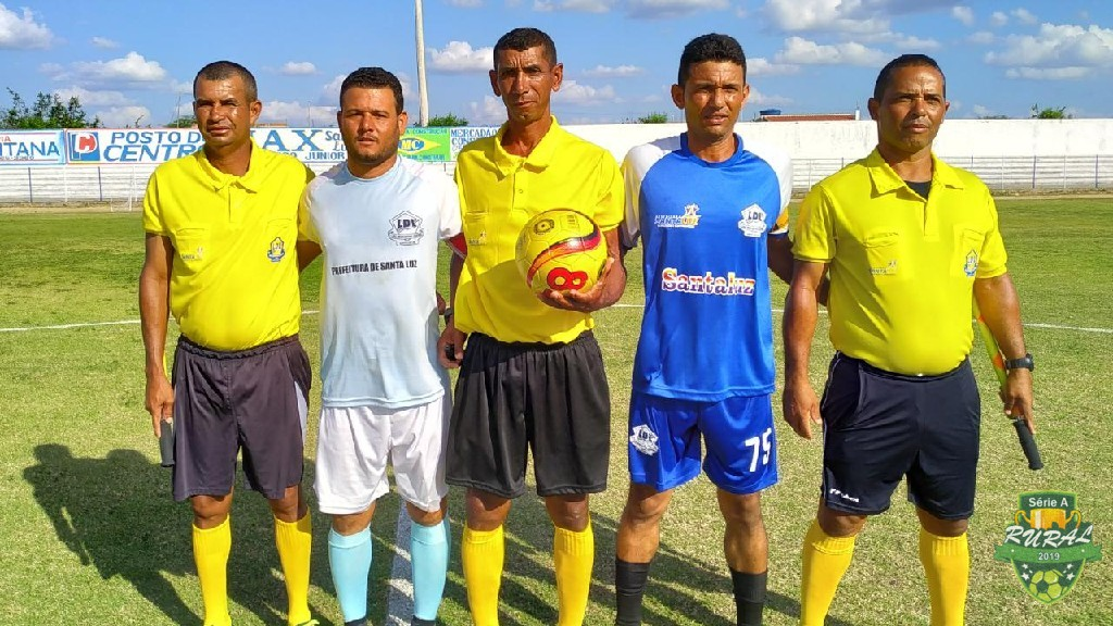 CAMPEONATO RURAL SERIA A - 2019 - Arbitragem com os capitães das equipes