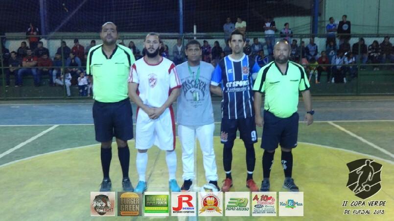 Copa Verde de Futsal 2018 - Mais Ou Menos x Nova Geração