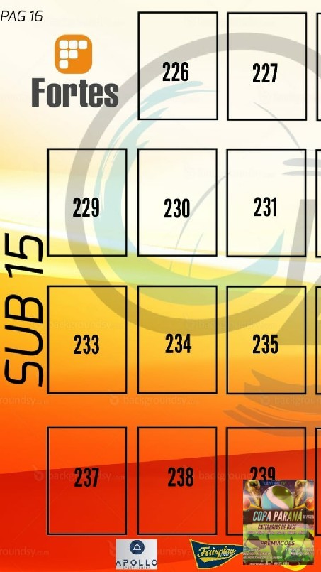 Copa Parana Futebol 7 Base - algumas escolas ficaram de fora mais não fique triste eles podem aparece na 2 edição