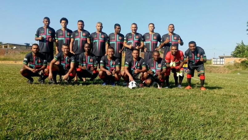 Campeonato Da Amizade  - dia da estreia do uniforme