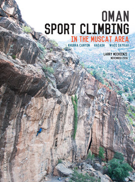 Oman: Muscat Sport Climbing cover