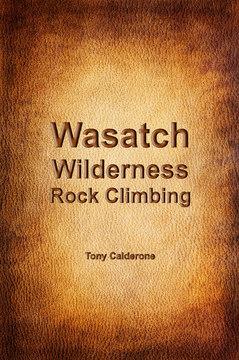 Wasatch Wilderness Rock Climbing cover