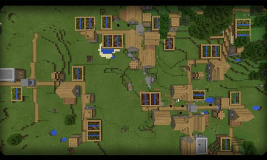 4 VILLAGES AT SPAWN! (1.11 & 1.12 PC/MAC) MINECRAFT SEED 3762059772143884786