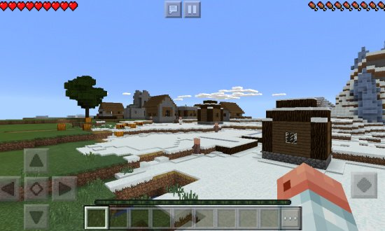 ICE SPIKE VILLAGE MINECRAFT SEED 1410403532