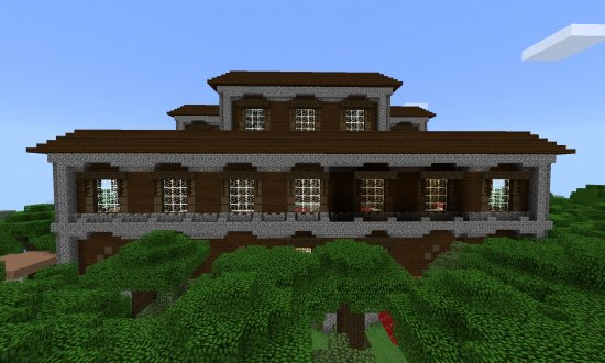 WOODLAND MANSION SEED FOR MCPE MINECRAFT SEED 2072006993