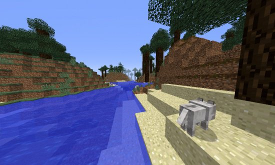 LOTS OF WOLVES MINECRAFT SEED -2312428322169159200