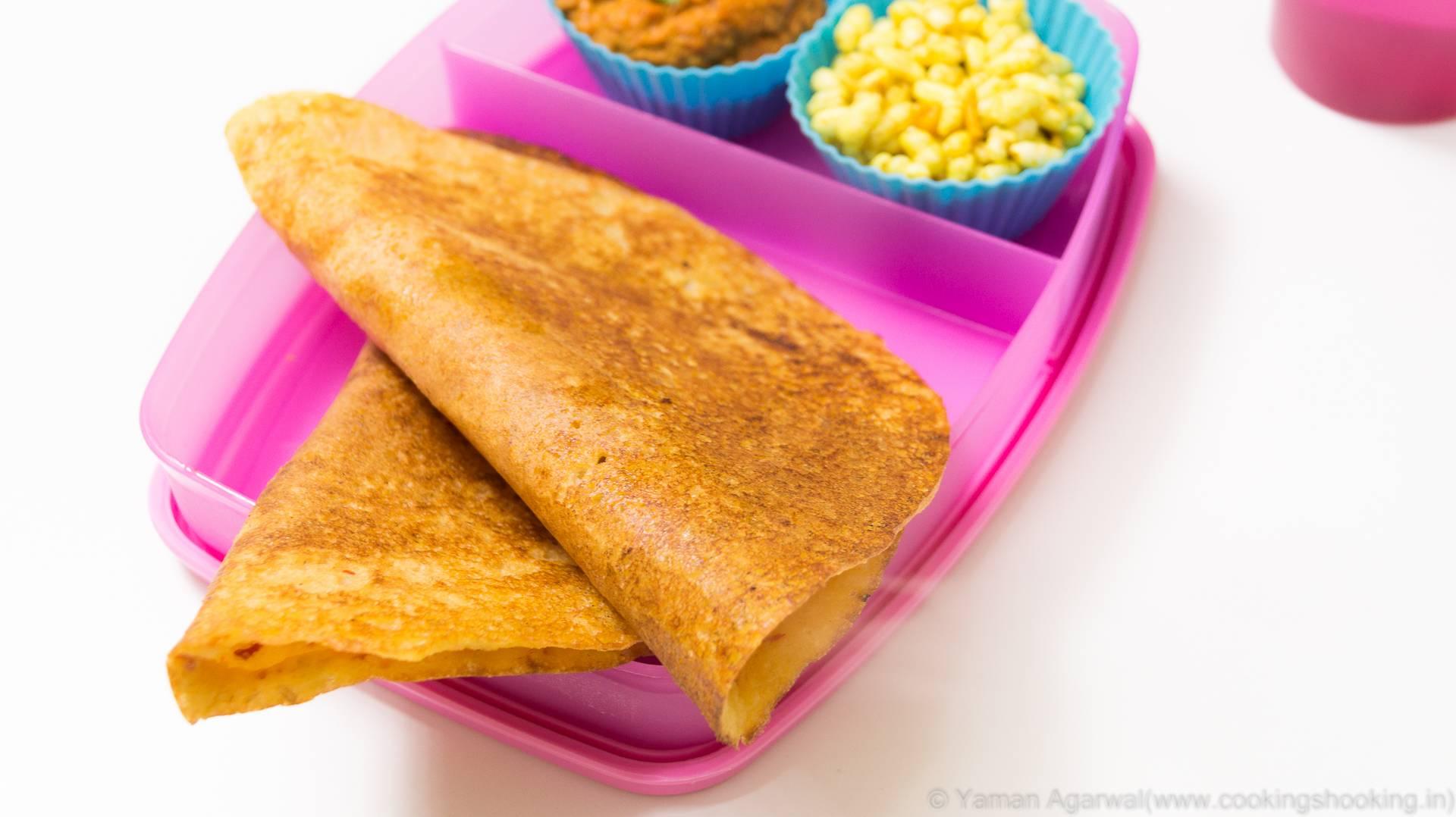 Adai Recipe / Multi-lentil dosa | South Indian Healthy Kids Lunch Box Recipe
