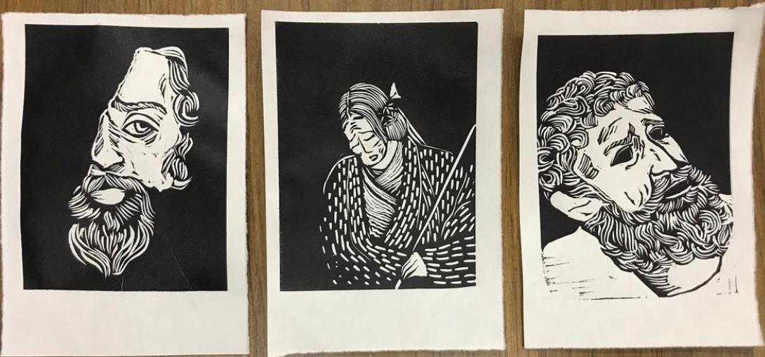Three Prints
