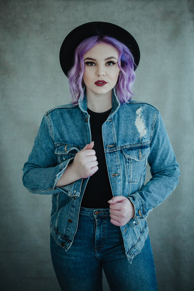 Lesley Hair Artist Studio Portraits