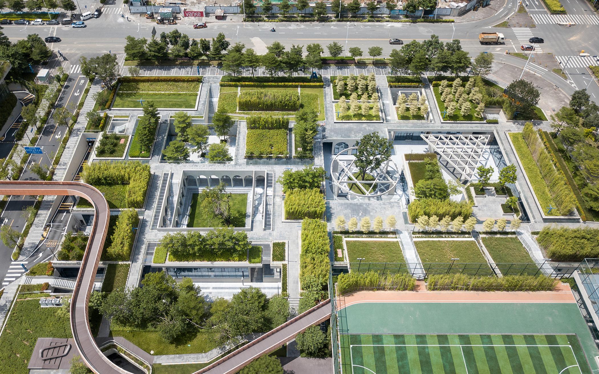 2017 Table-Landscape: Plot B4, Vanke Design Commune, Liuxiandong, Shenzhen