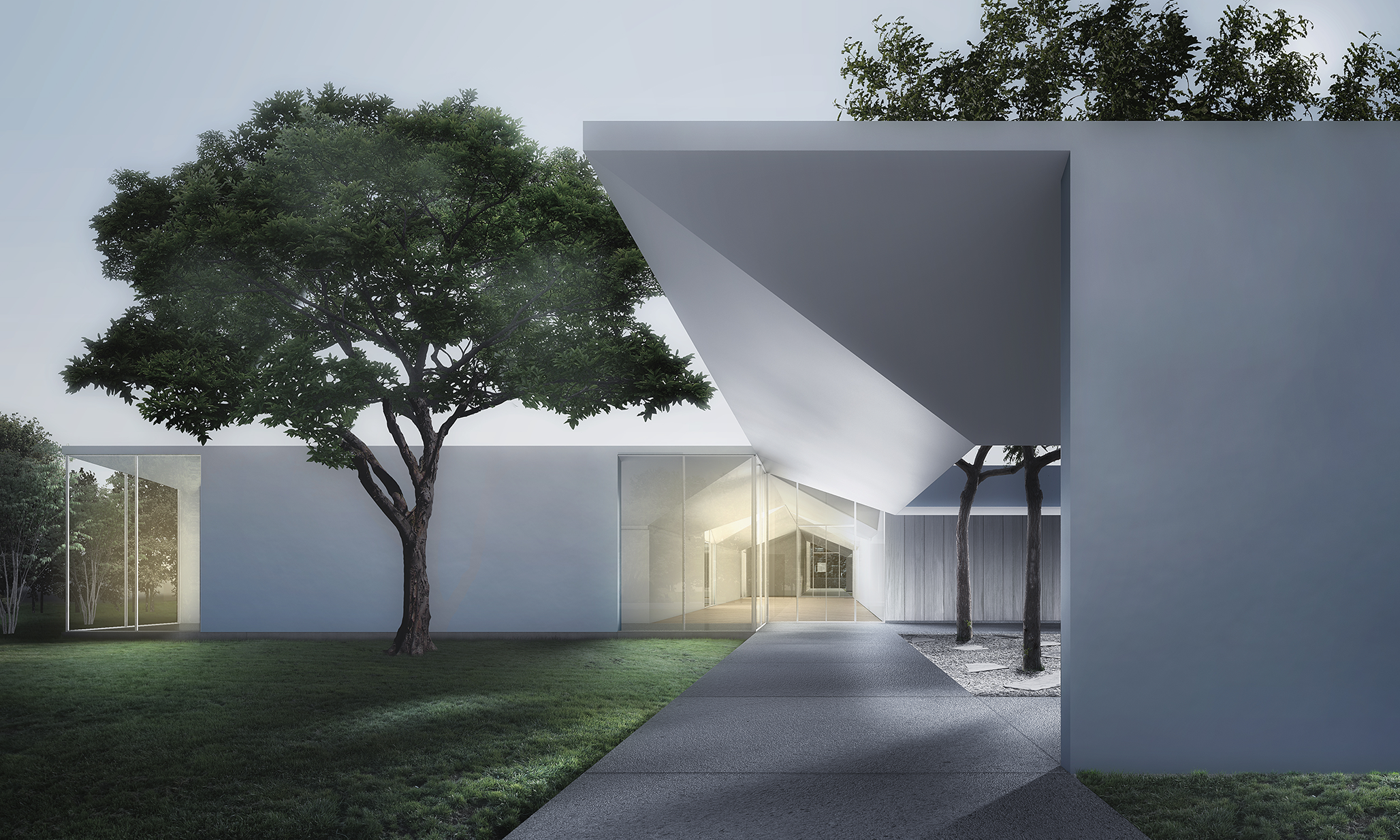 Menil Drawing Institute, Houston, Texas, 2014