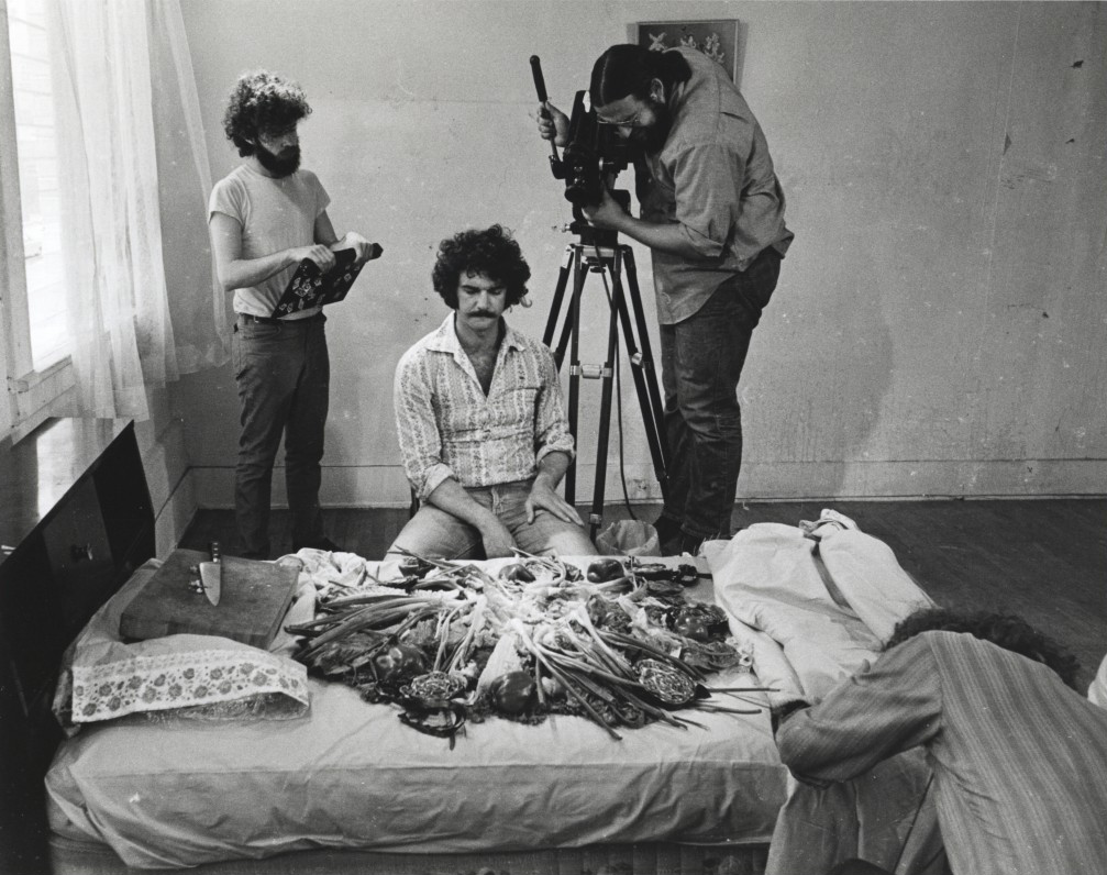 """Premium"" (1971), a film made by Ed Ruscha"