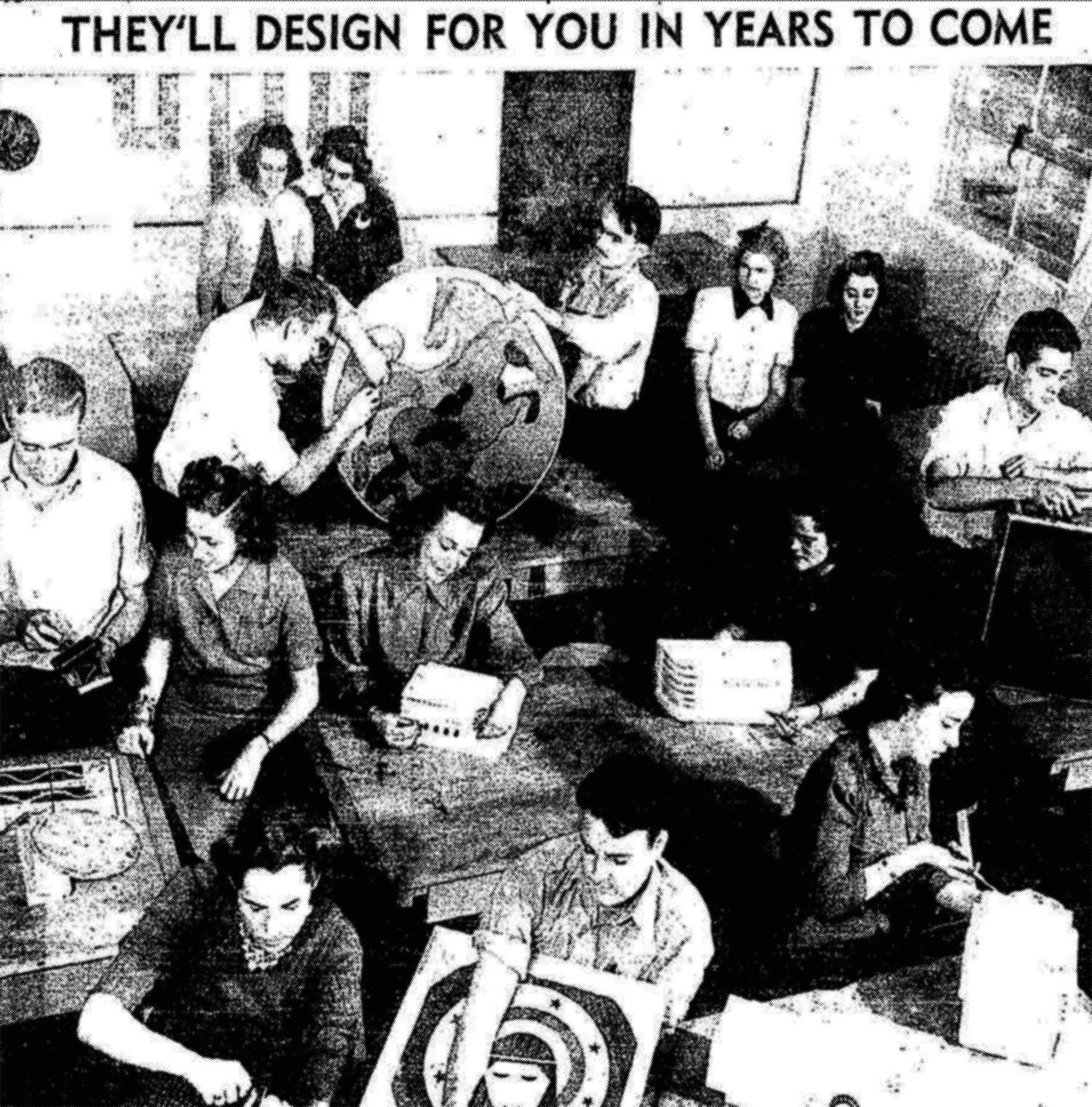 "USC Industrial Design Students, December 1939. ""They'll Design for You in Years to Come."" Source: Los Angeles Times, Dec. 24, 1939."