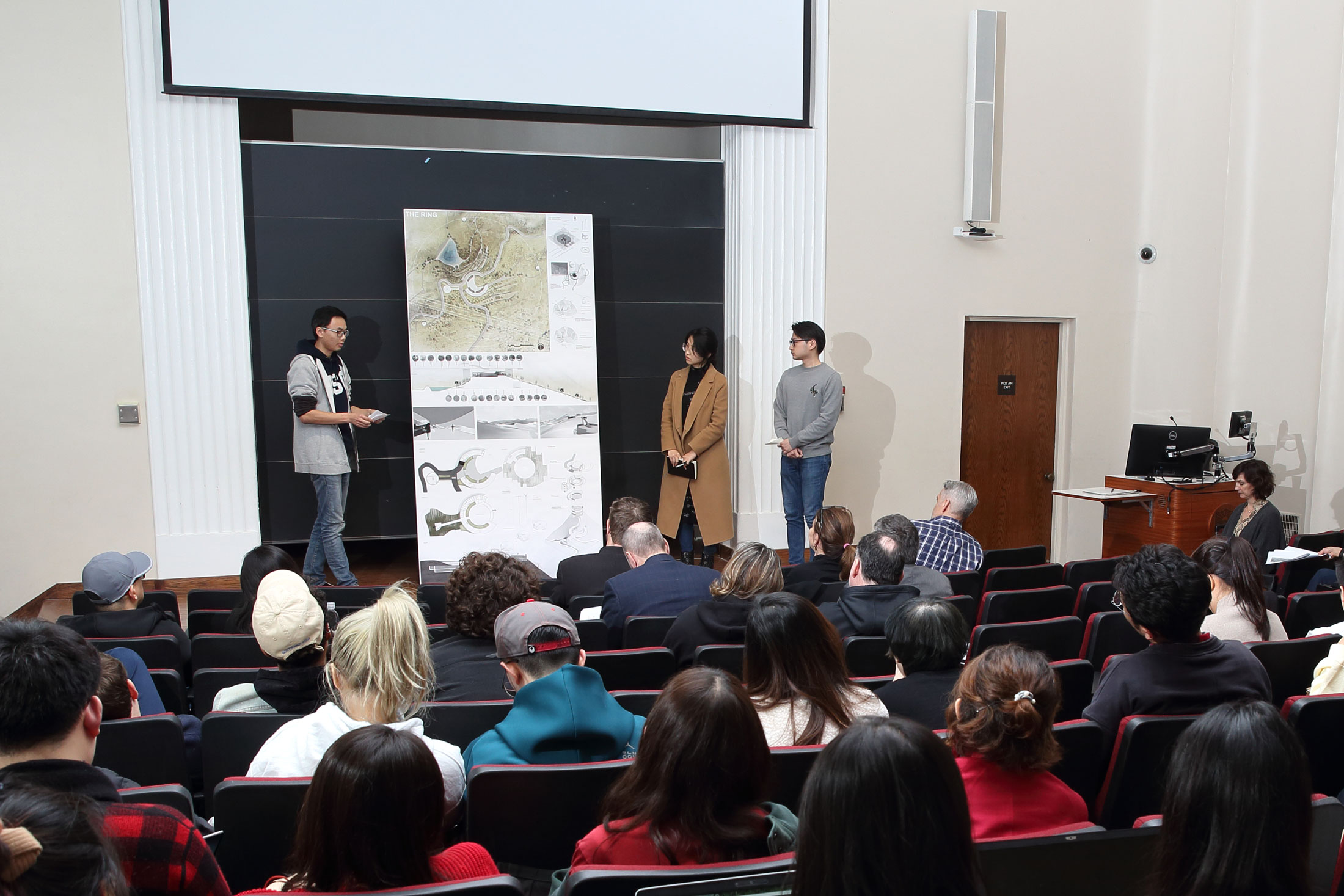 The 2020 Design Charrette was a week-long challenge, giving students the opportunity to work in teams of three to create innovative solutions to complex urban design issues.