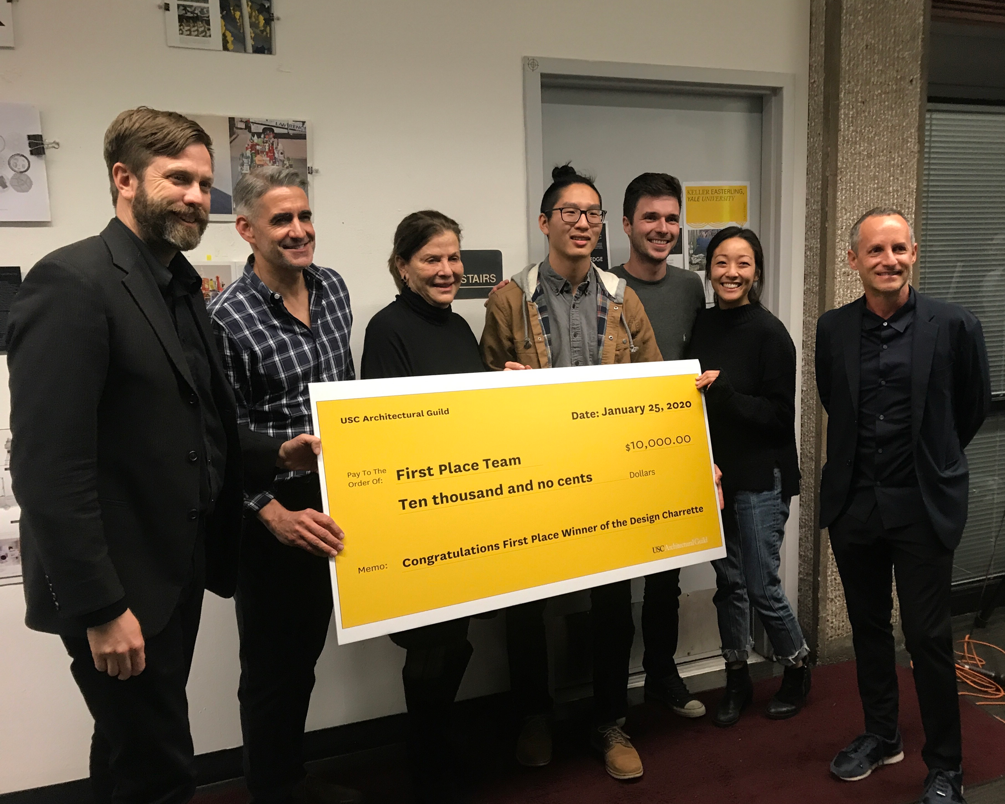 2020 Design Charrette First-place Winners