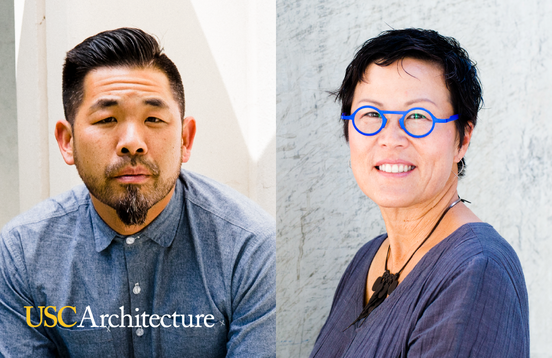 Associate Professor Doris Sung & Associate Professor Alvin Huang will serve as directors of undergraduate and graduate & post-professional architecture programs, respectively