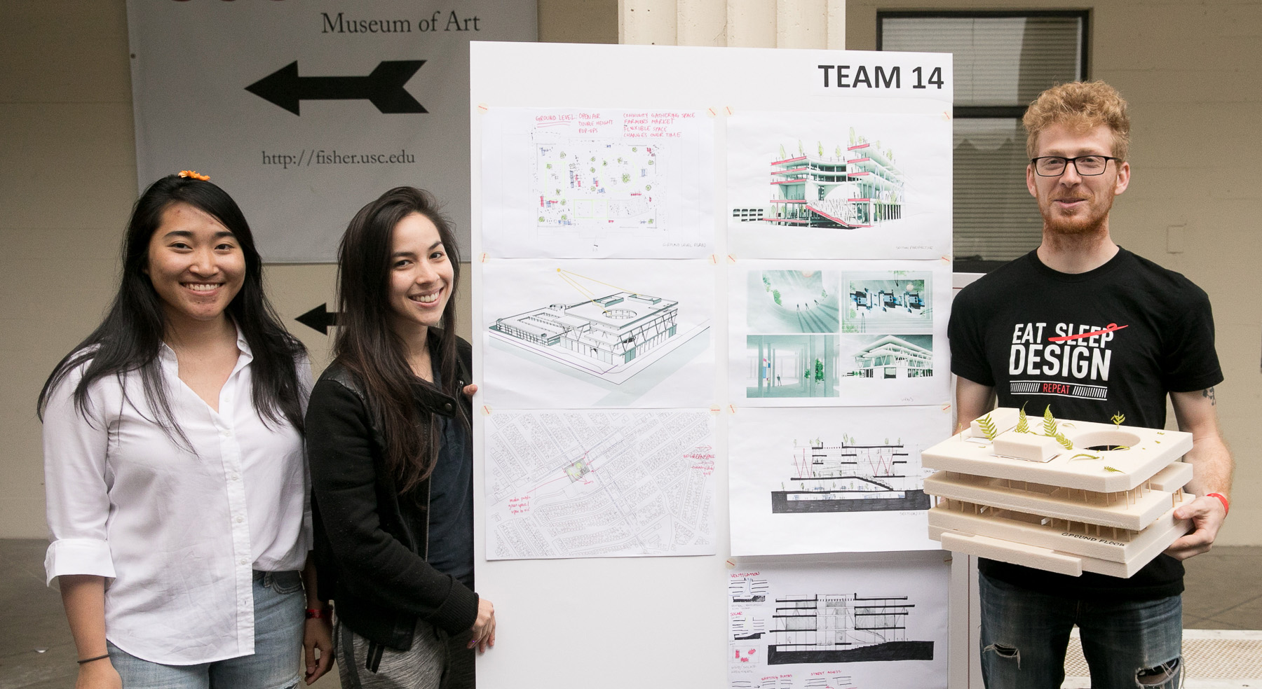 Seventh Annual Architectural Guild Charrette Challenged Students to Repurpose Former Macy's Store at Westside Pavilion