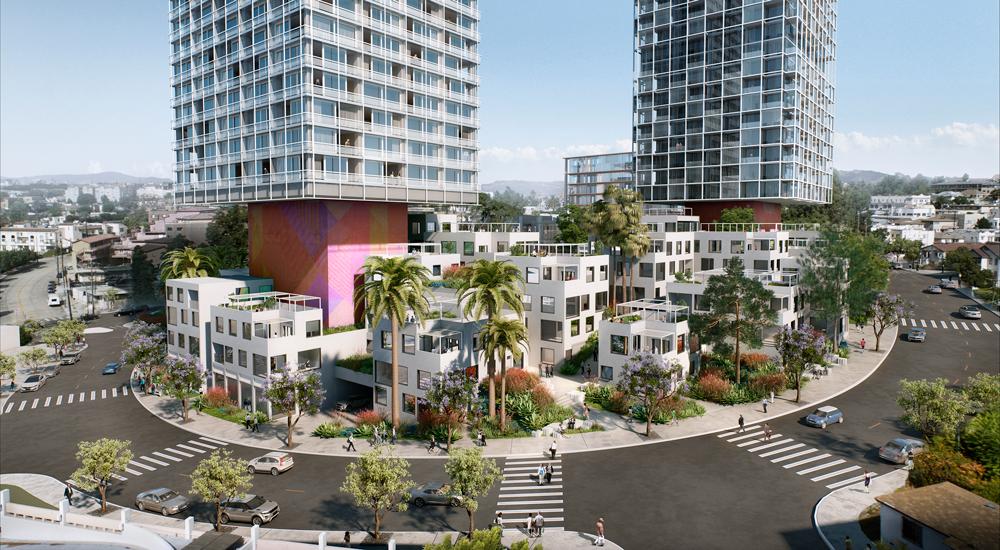 1111 Sunset Boulevard, Los Angeles, California, Skidmore, Owings & Merrill LLP