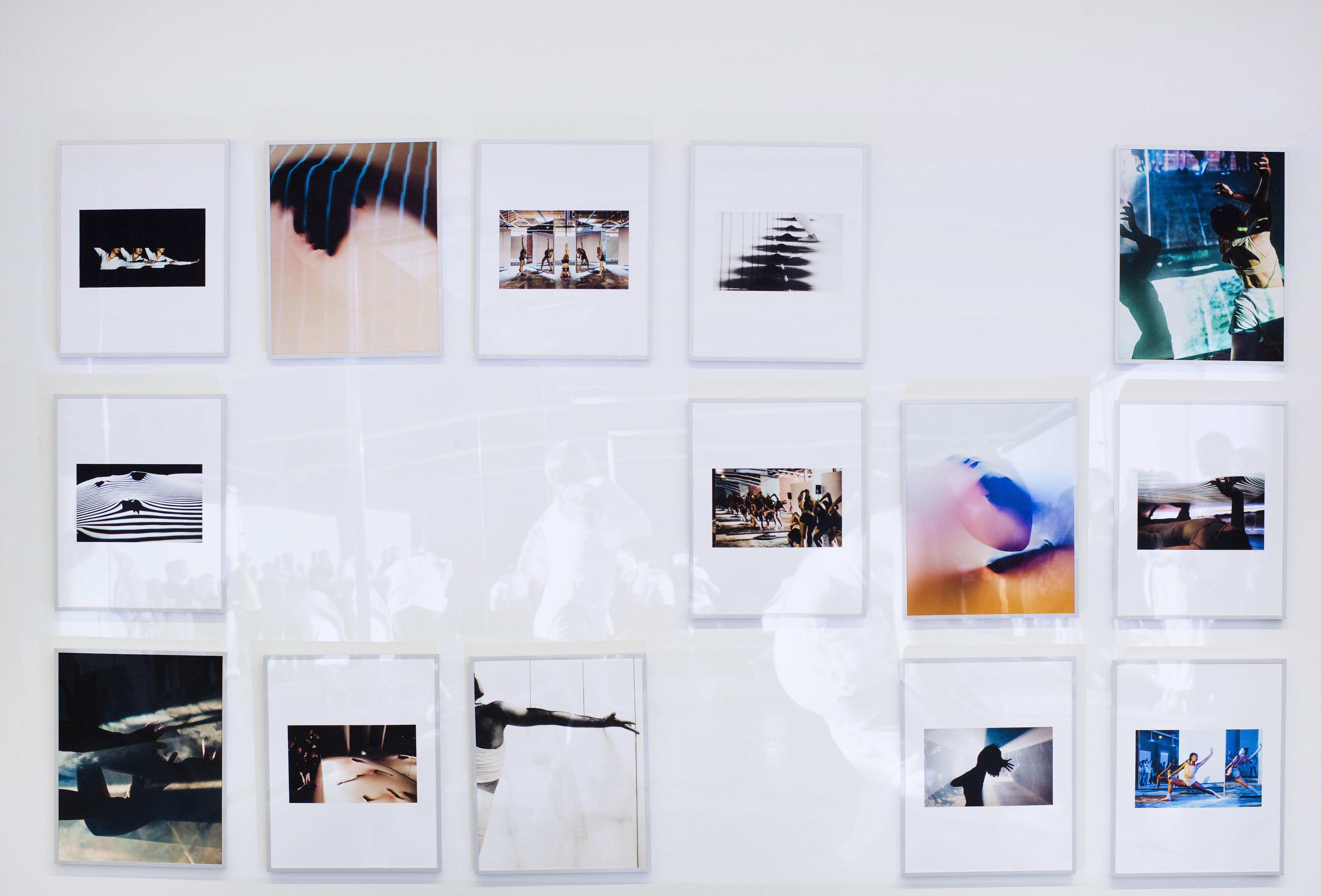 """Movement, Material, Media"" exhibition by Erin Cuevas"