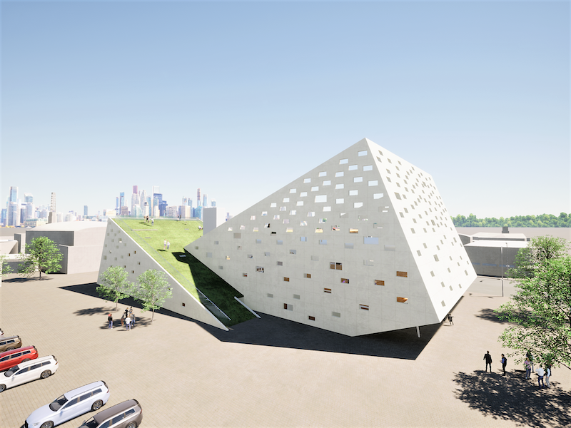 Hillside Community Center - Sixuan Chen, B.Arch '22