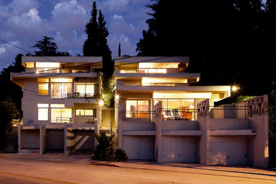 R. M. Schindler's Bubeshko Apartments, DSH // architecture