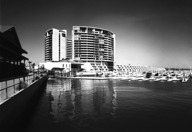 Marina City, Marina del Rey, Calif., 1972, DMJM
