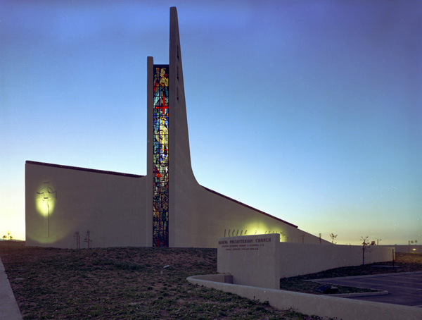 Geneva Presbyterian Church, Laguna Woods Calif., William L. Pereira & Associates, 1969, Pereira & Associates