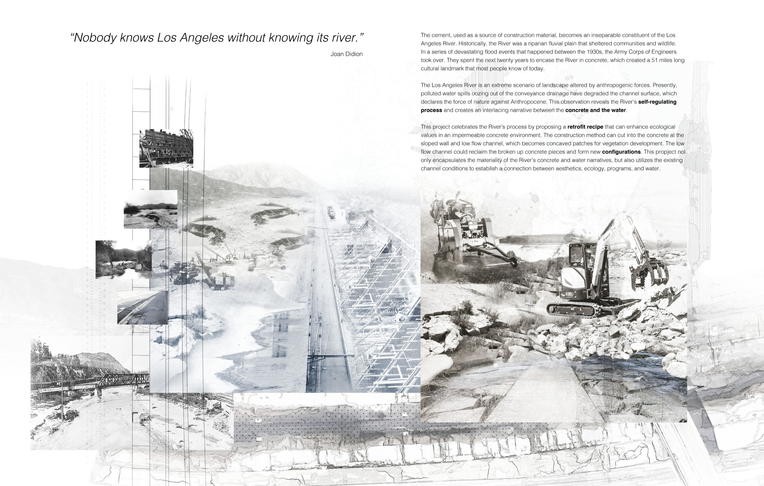 Concrete and Water: A Digestive Process of the Self-Emerging River - Linpei Cheng, MLA +2 '20