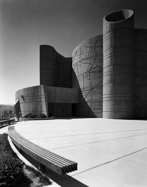 House of the Book, Simi Valley, Calif., 1973, Sidney Eisenshtat
