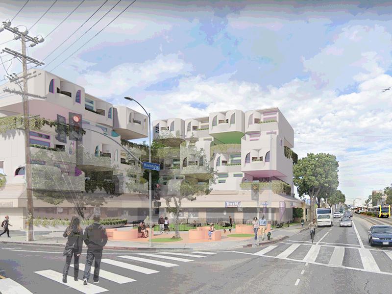 Transformation Strip Malls - Louise Rogier, M.Arch '21