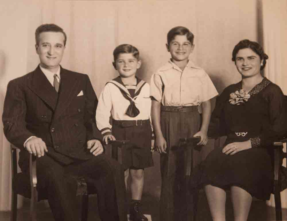 Charles Abrahamian and his wife, Zarouhi, fled the Armenian genocide and met in New York, where they started their family before moving west to Los Angeles. (Photo/Courtesy of Edward Abrahamian)