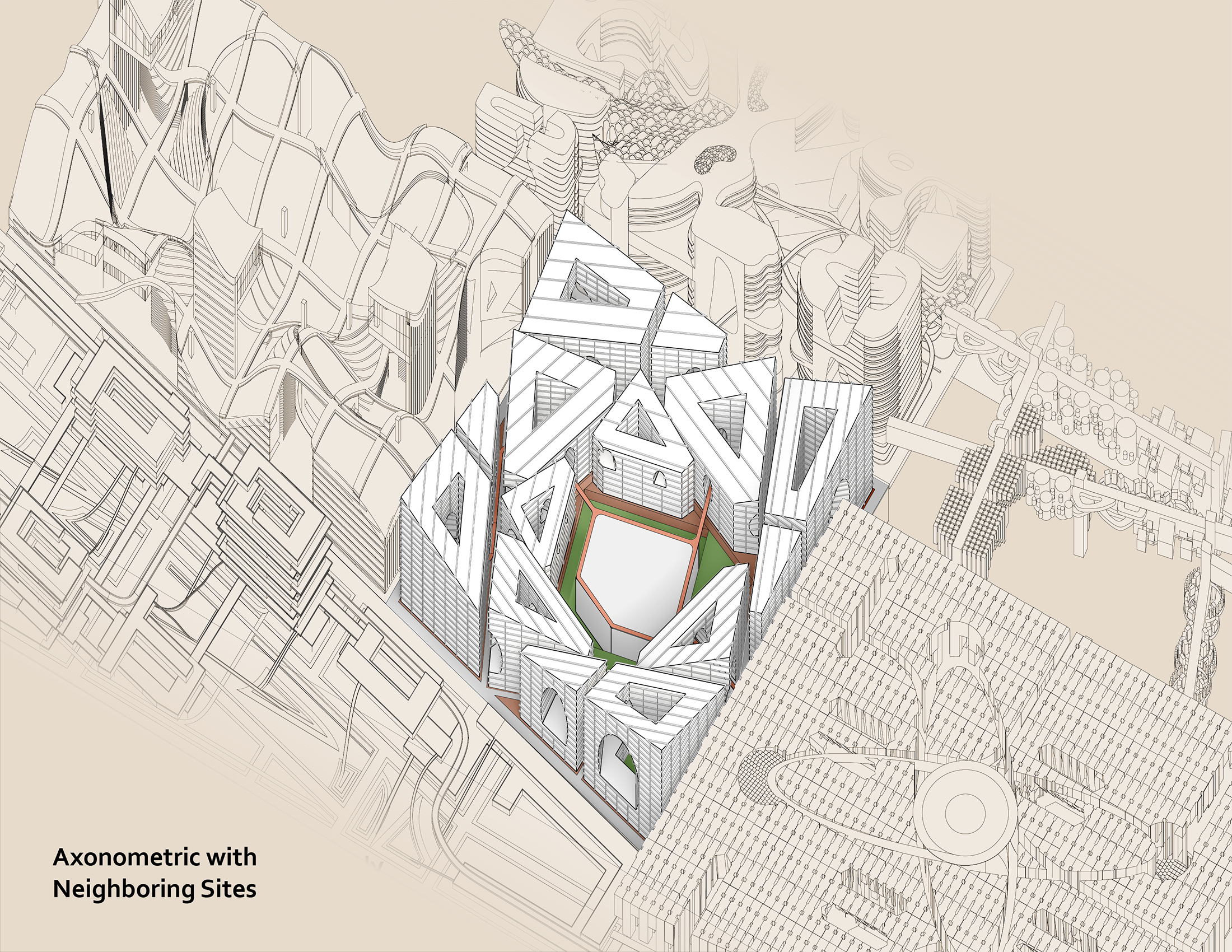 The New Democratic Space Austin Roberts, B.Arch '24