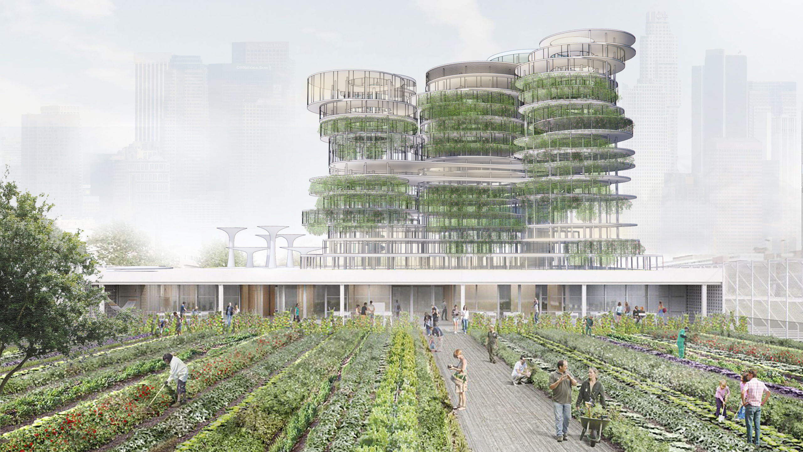 Agriculture Tower _ New City Ecosystem - Han Deng, M.AAS '20