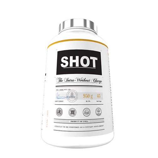 Shot intra workout BCAA