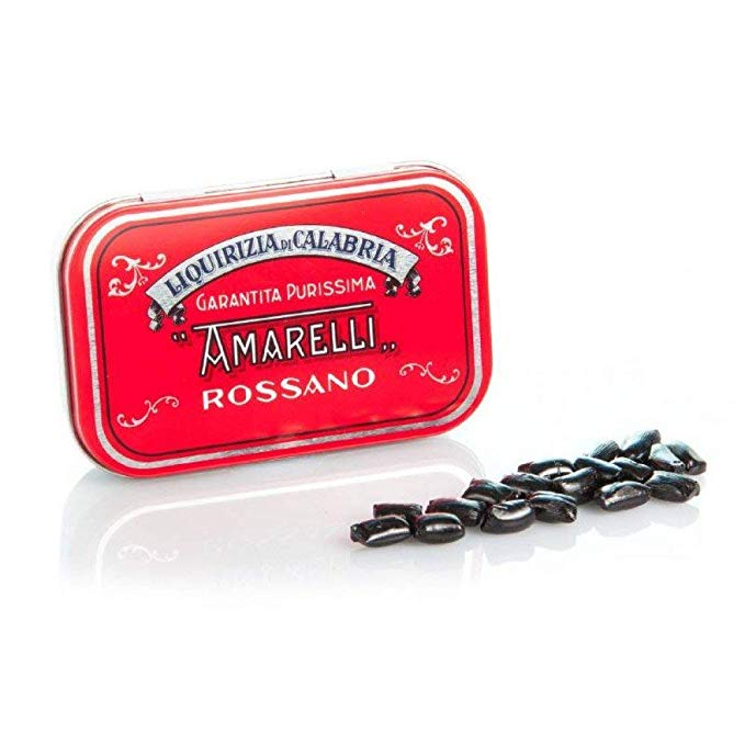 Regaliz Amarelli Can Red Collection