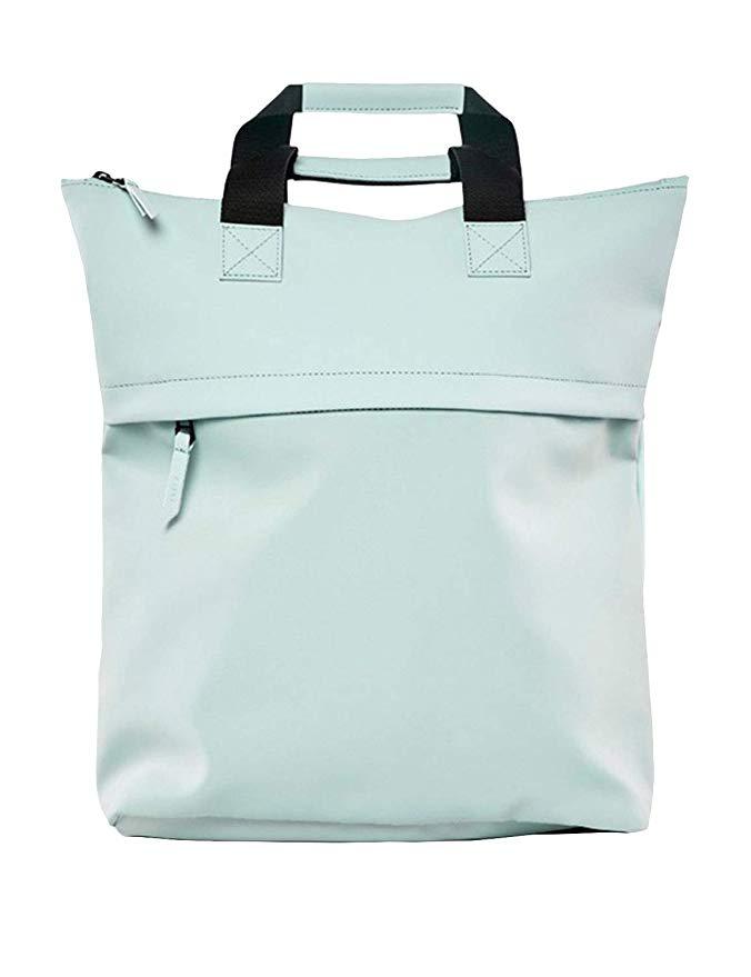 Water-Resistant Tote Backpack