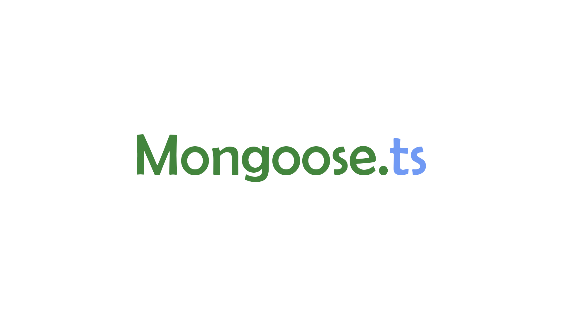 Use mongoose with typescript