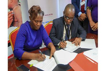 Damu Sasa partners with Amref Health Africa