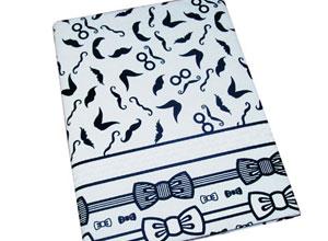 Caderno forrado com tecido