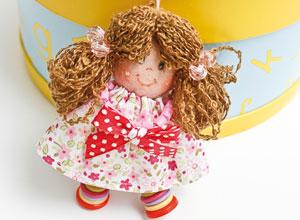 Chaveiro de boneca