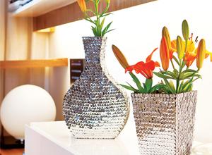 Vaso de flores customizado