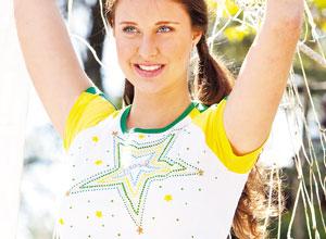 Camiseta com estrela