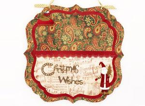 Porta-cartão de Natal