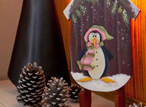 Trenó decorativo de Natal