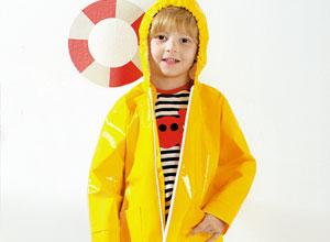 Capa de chuva infantil