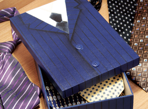 Caixa de gravatas