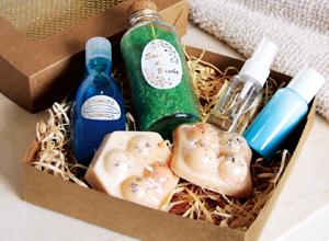 Kit de cosméticos para homens