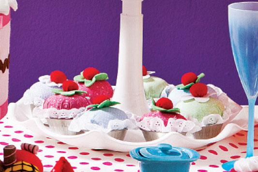 Cupcake de pano
