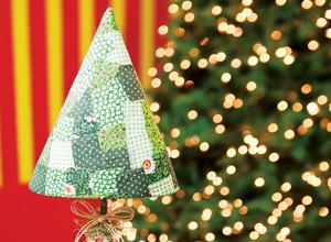 Árvore de Natal com isopor