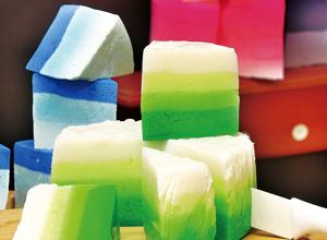 Sabonete de marshmallow